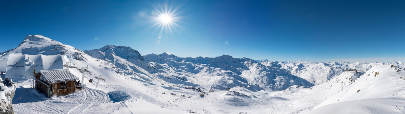 Val-Thorens Landschap
